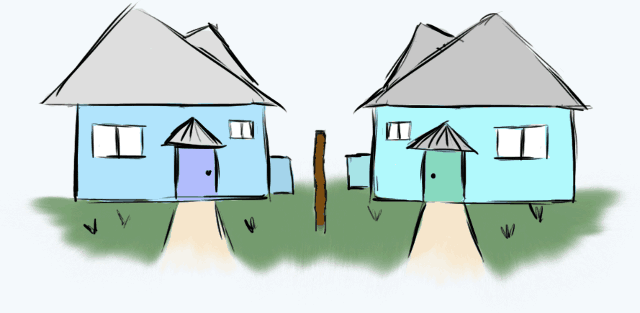 two_similar_houses
