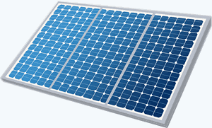 Photovoltaic Solar Panels that produce electricity