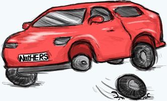 3 wheeled car